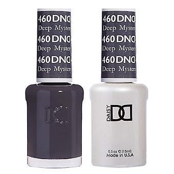 Dnd Duo Gel & Nail Polish Set - Deep Mystery 460 - 2x15ml