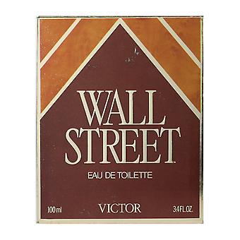 Victor Wall Street Eau de Toilette Splash 3,4 oz/100ml i låda (Vintage)