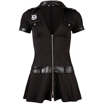 Senhoras vestido de polícia