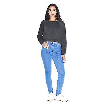 American Apparel Womens/Ladies Crop Pullover