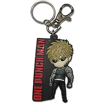Key Chain - One Punch Man - New SD Genos Toy Licensed ge85334