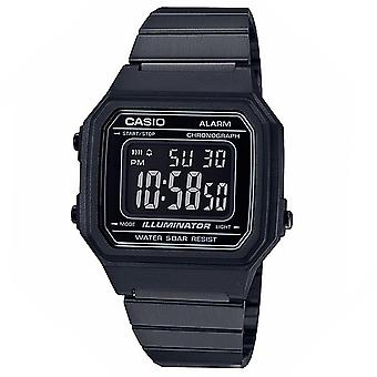 Casio Uomini's Classic Vintage Black Dial Watch - B650WB-1BVT