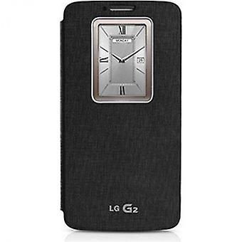 LG CCF-240 quick window flip cover case for G2 black bulk