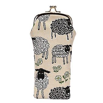 Spring lamb glasses pouch by signare tapestry / gpch-splm