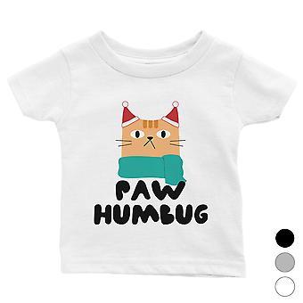 Paw Humbug Funny Holiday Baby Shirt X-mas Gift