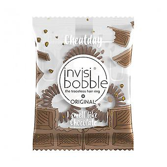 Invisibobble Cheat Day Hair Tail #Crazy For Chocolate 3 stuks (Capillair , Accesories)