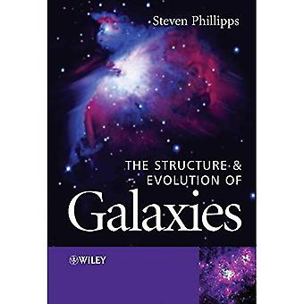 La estructura y la evolución de las galaxias