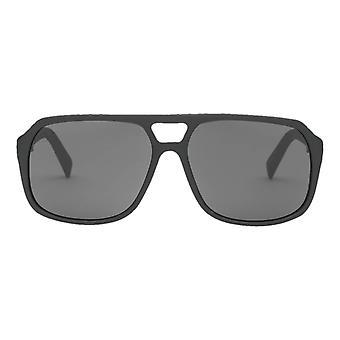 Electric California Dude Sunglasses - Matte Black/Polarized Grey