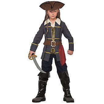 Kapitän Cutlass Piraten der Karibik Jack Sparrow Buch Woche jungen Kostüm