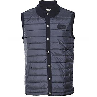 Barbour International Quilted Front Baffle Gilet