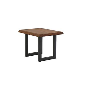 ライト&リビングサイドテーブル60x50x55cmアンバトウッド