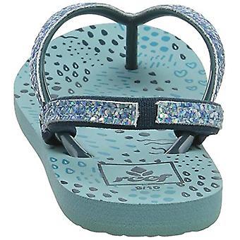 Reef Kids Baby Girl ' s pikku Stargazer tulostaa, sininen, koko 11-12 pikku lapsi