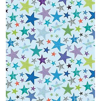 Simon Elvin Stars Gift Wraps (24 Sheets)