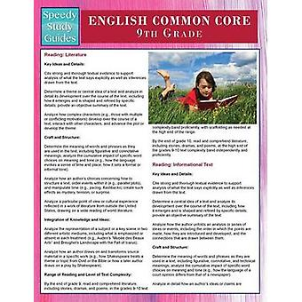 English Common Core 9th Grade Speedy Study Guides by Publishing LLC & Speedy