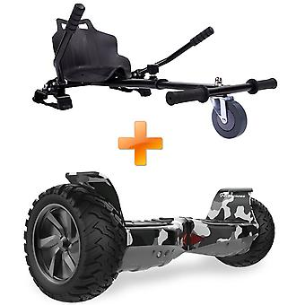 Evercross New Off-road Segway Electric scooter with Hoverkart  Bluetooth Hoverboard
