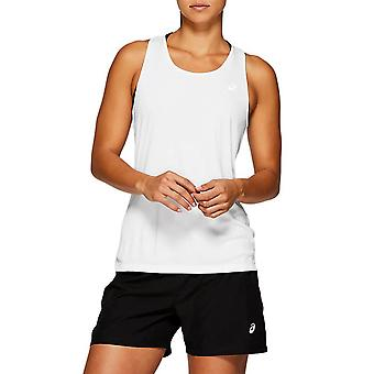 アシックスシルバータンク2012A053100ランニング一年女性Tシャツ