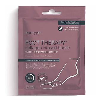 Beauty Pro Foot Collagen Infused Bootie