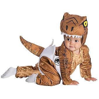 Costume d'enfant en bas âge de T-Rex d'éclosion