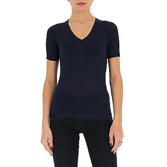 Gentry Portofino D652alg0006 Women's Blue Cotton T-shirt