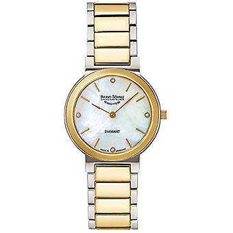 Bruno S_hnle Quartz analog watch with stainless steel band 17-23108-992