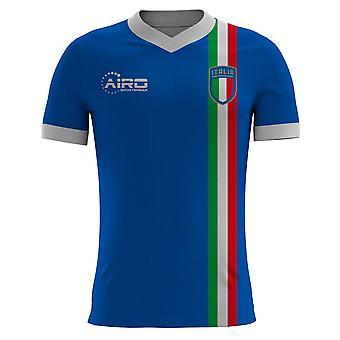2020-2021 Italy Pre Match Concept Football Shirt - Kids