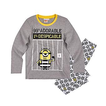 Minions despicable boys pyjama set