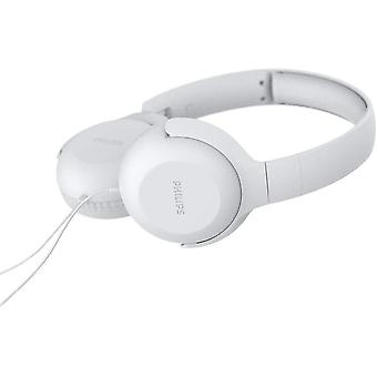 Philips On Ear Headphones UH201WT/00 with Cable - White