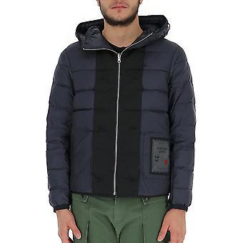 Ten C 18ctcud03103002197979 Men's Blue Polyester Outerwear Jacket