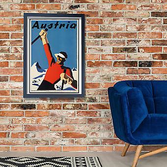 Austria Poster Print Giclee