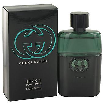 Gucci Guilty Black Eau De Toilette Spray door Gucci 1.6 oz Eau De Toilette Spray