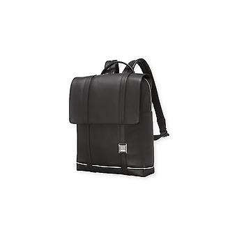 Moleskine leather lineage backpack color black for digital devices up to 15''