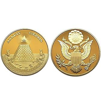 Great seal united states commemorative gold coin
