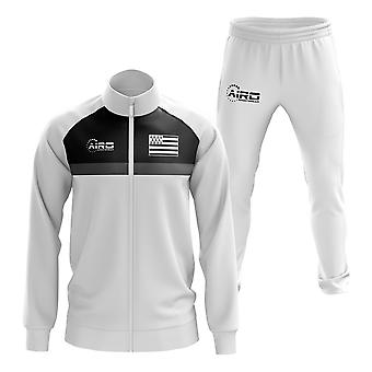 Brittany Concept Football Tracksuit (Blanc)