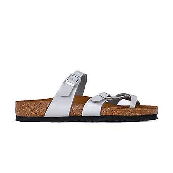 Birkenstock Mayari Graceful Silver 1009608 universal summer women shoes