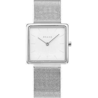 OBAKU - Wristwatch - UNISEX - V236LXCIMC - KVADRAT-STEEL