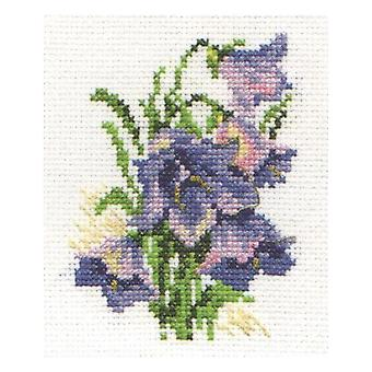 Alisa Cross Stitch Kit - Bluebells