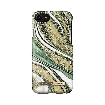 iDeal Of Sweden iPhone 8/7/6s/6/SE (2020) shell - Cosmic Green Swirl