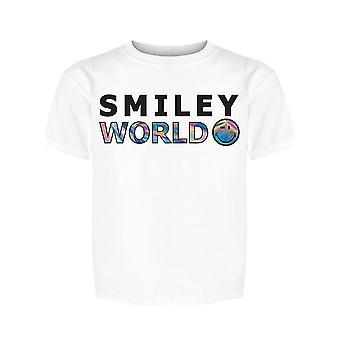 SmileyWorld Holo Art Girl's T-shirt