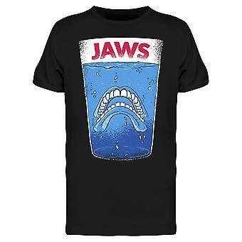 Jaws Dental Teeth Glass Men's T-shirt