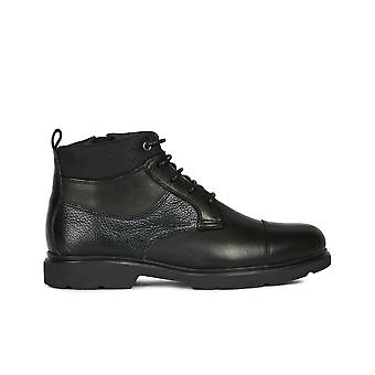 Geox u arrall d ankle boots mens black