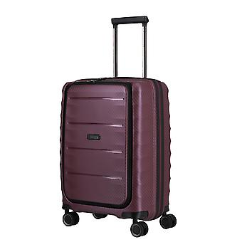 TITAN Destacado Business-Trolley S, 4 rollos, 55 cm, 42 L, Rojo