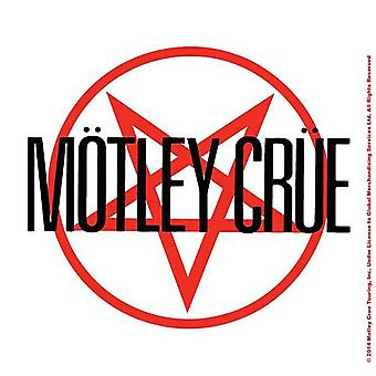 Motley Crue Coaster Shout At The Devil Band Logo new Official