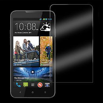 מזג זכוכית מגן מסך כיסוי המשמר עבור HTC תשוקה 616
