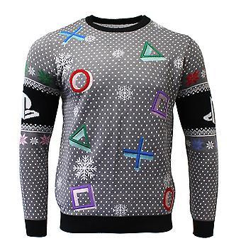 PlayStation Symbols Grey Sweater