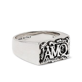 High Relief Signature Logo Ring