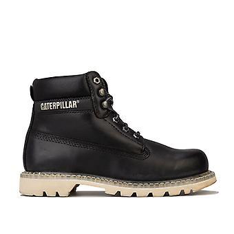 Mænd's Caterpillar Colorado Full Grain Boots in Black
