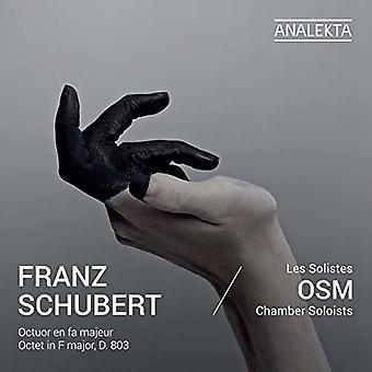 Octet In F Major [CD] USA import