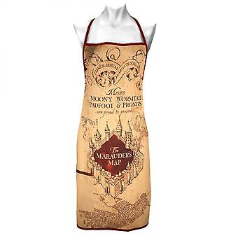 Harry Potter Marauder's Map Apron