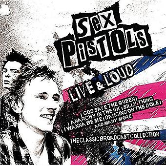 Sex Pistols - Live & Loud [CD] USA import