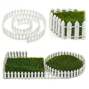Diy Mini Small Fence Barrier Wooden Craft Miniature - Fairy Garden Terrarium Doll Branch Palings Showcase Decoration